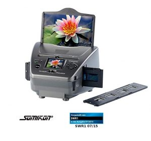 Escáner de diapositivas para fotos