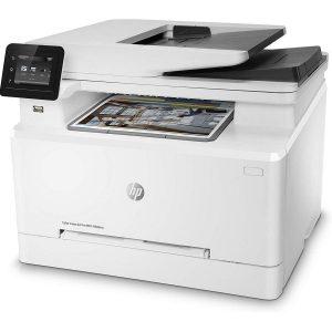 Impresora láser a color con fax y escáner
